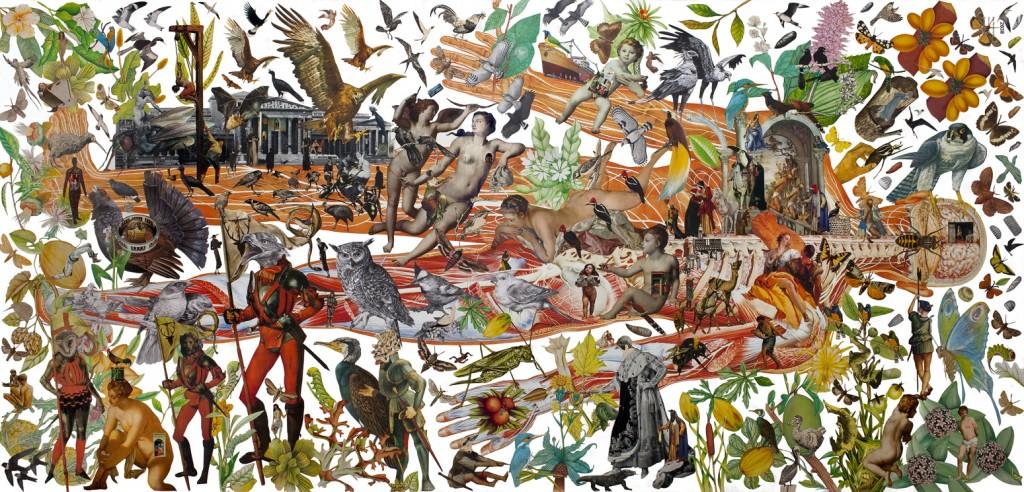 El Surrealista y Exuberante mundo de Mauricio Garrido