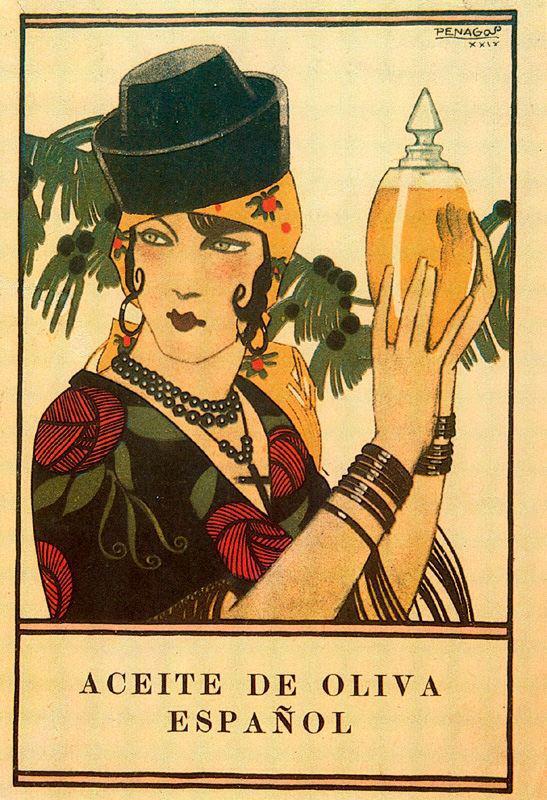 Carteles de Arte y Publicidad Vintage por Rafael de Penagos