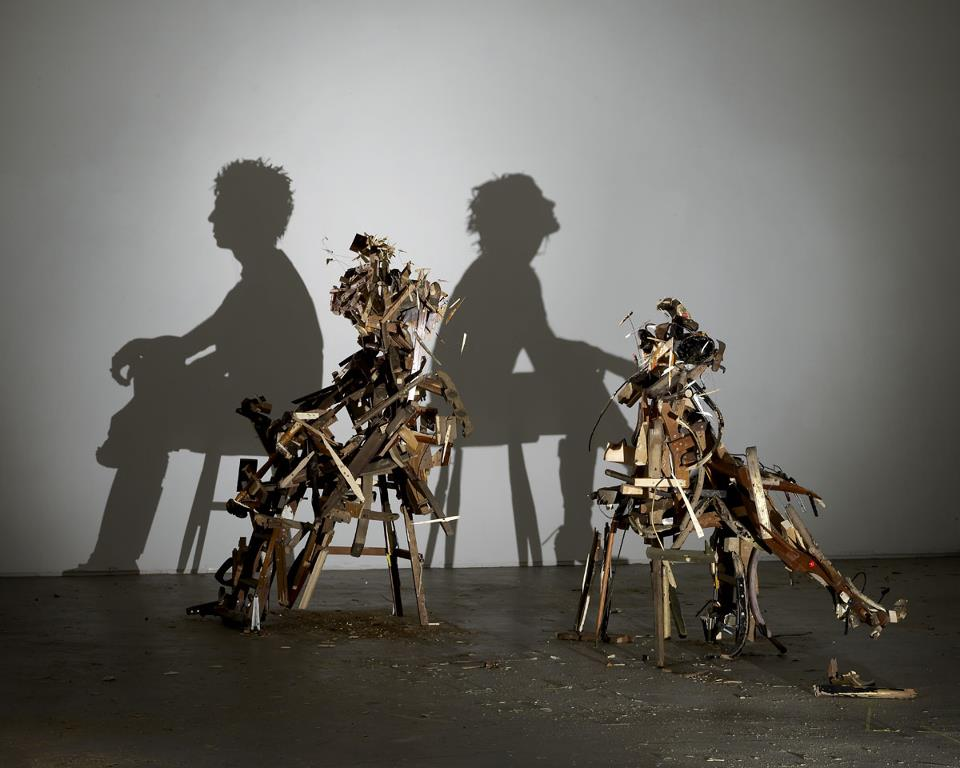 Six new shadow sculptures from Tim Noble and Sue Webster