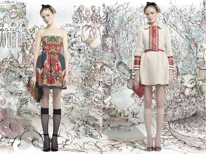 Valentino inspirado en Hansel & Gretel
