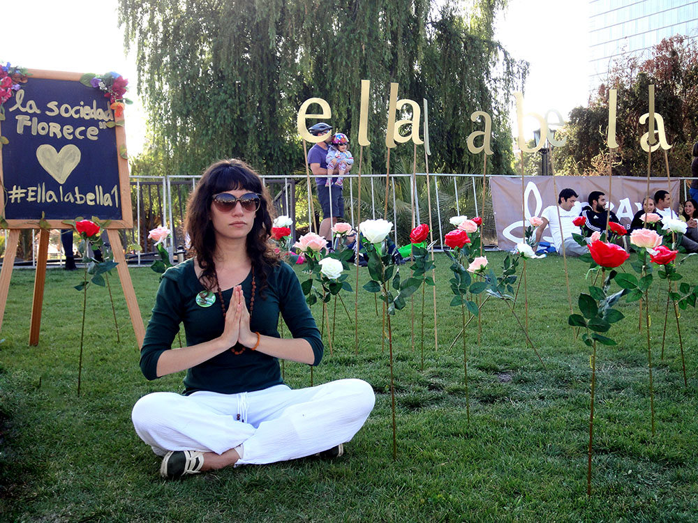 Ellalabella en Yoga in the City