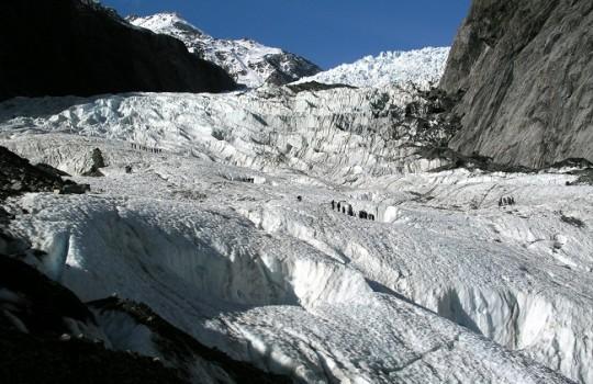 Los amenazados glaciares de Lo Barnechea