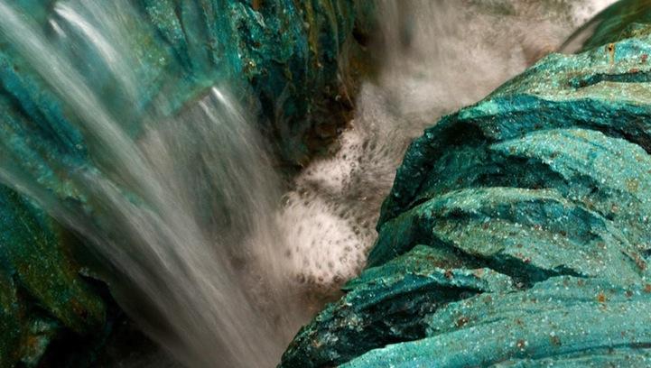 Esculturas Topográficas de la artista Cristina Iglesias