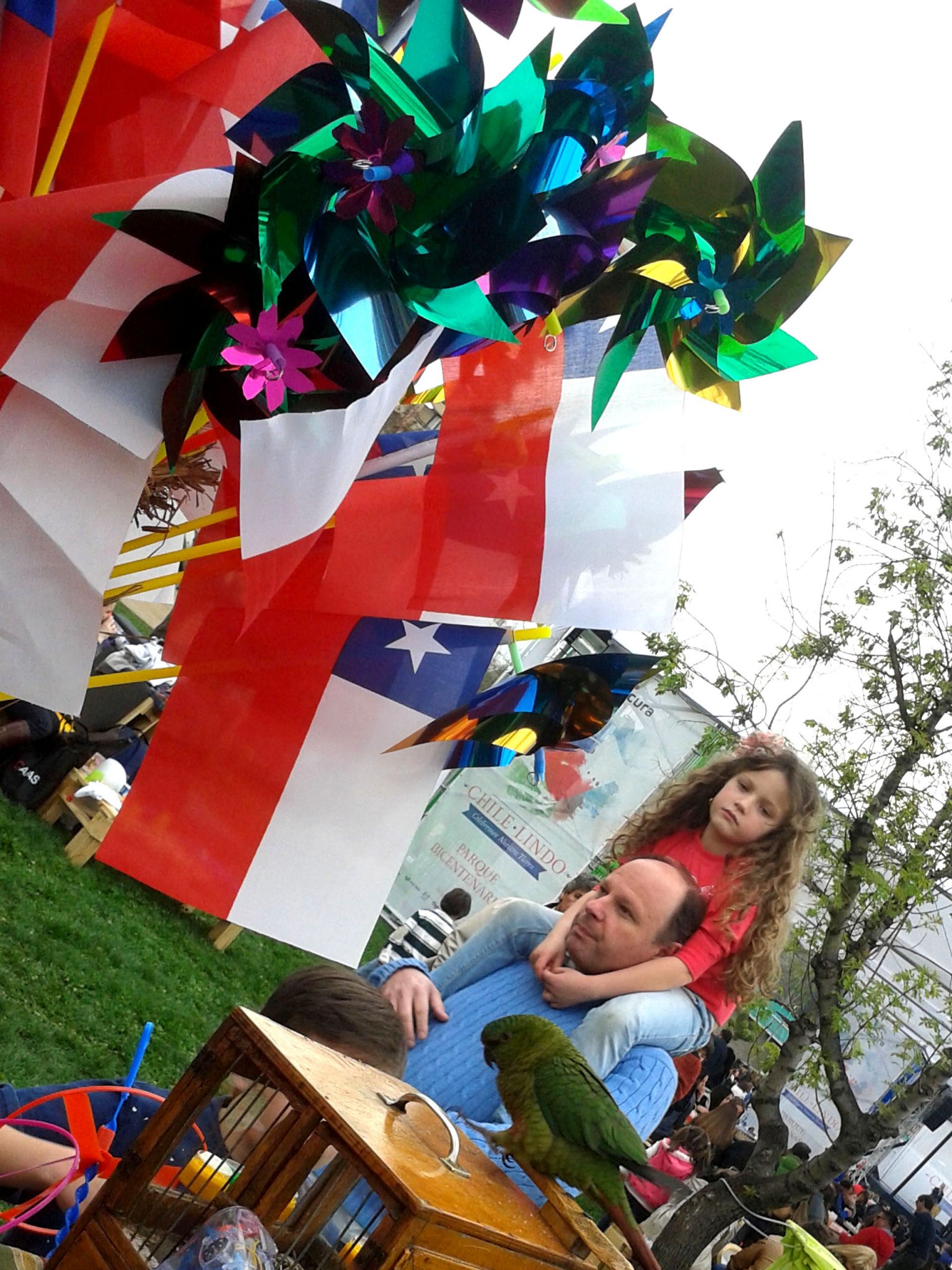 Chile Lindo 18 en el Parque Bicentenario 2014