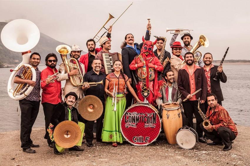 Banda Conmoción presenta nuevo Disco Tiraneño