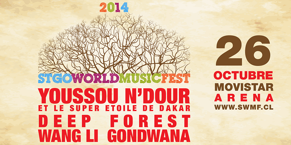 Deep Forest en Stgo World Music Fest 2014