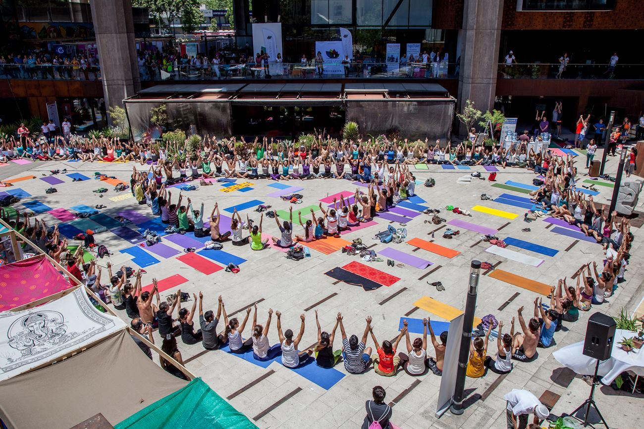 Expo Yoga en el GAM