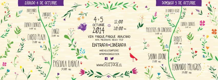 Gustock la fiesta del Picnic 2014