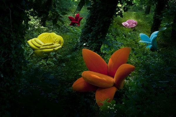 Sillas inspiradas en la Naturaleza