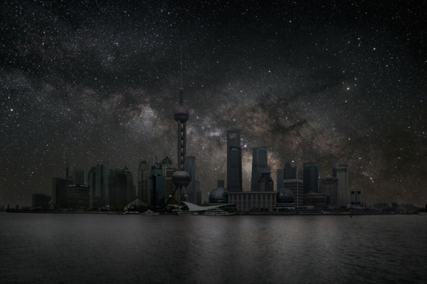 Shanghai Pudong Image - Credit & Copyright - Photo Thierry Cohen,  Courtesy Danziger Gallery, New York-resized-600