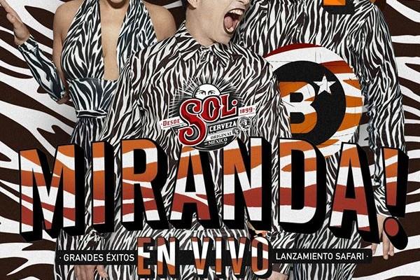 Miranda lanza su nuevo disco en la Blondi