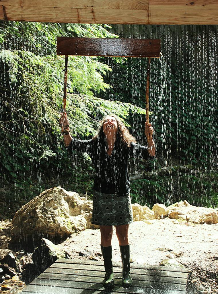 El Velo de la Novia por Louis Sicard, acueducto de 4000 agujeros