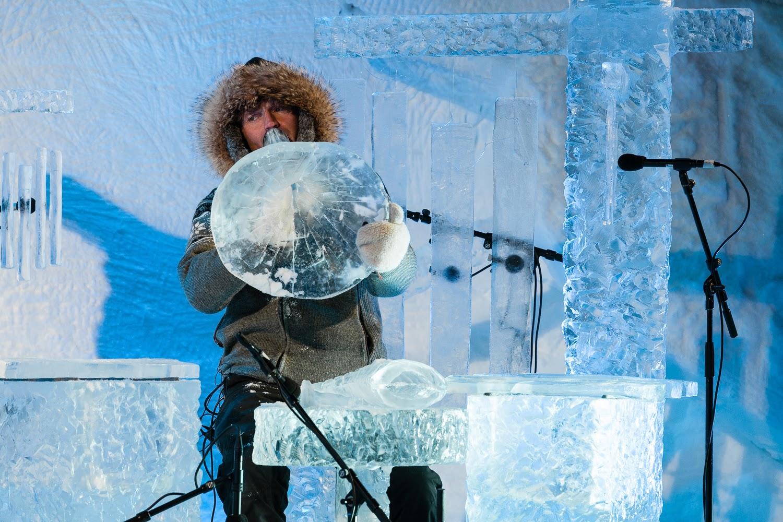 Terje Isungset crea ésta increíble música hecha con hielo