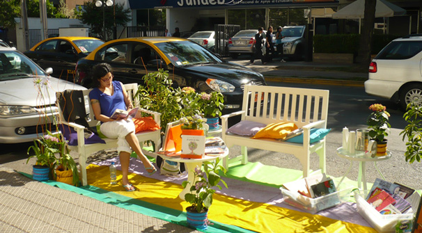 The Park(ing) day Chile 2014