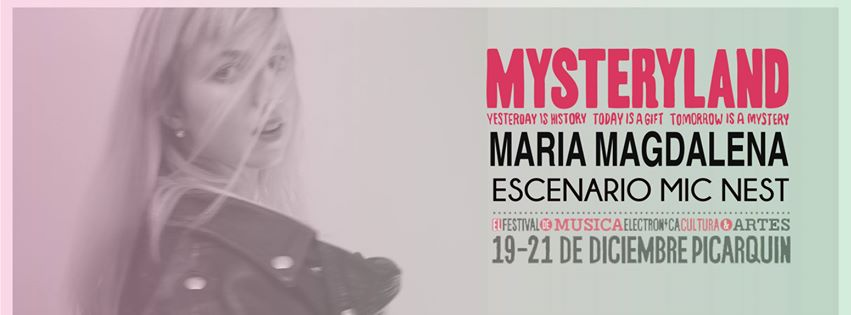 María Magdalena en Mysteryland