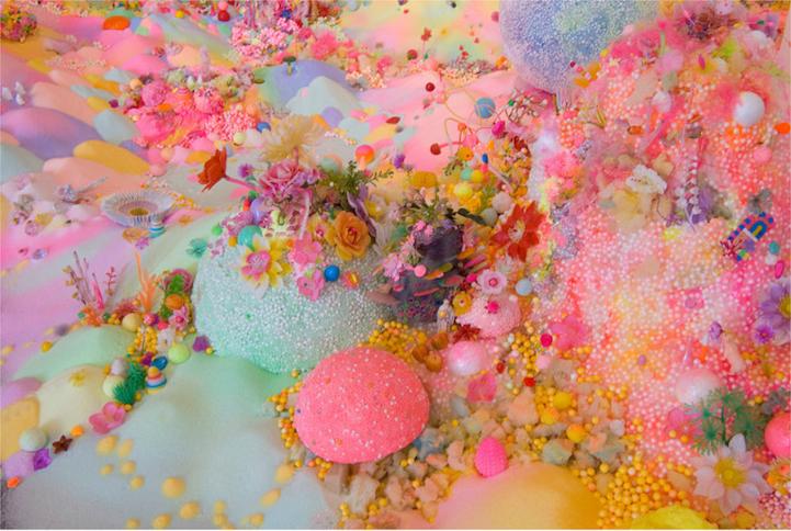 Saborea con tus ojos la obra Pip & Pop, pequeñas galaxias de fantasía