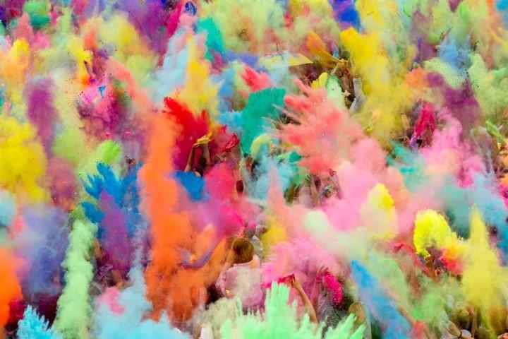 Holi Festival of Colours en Chile