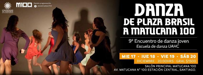 9º Versión del encuentro de danza joven