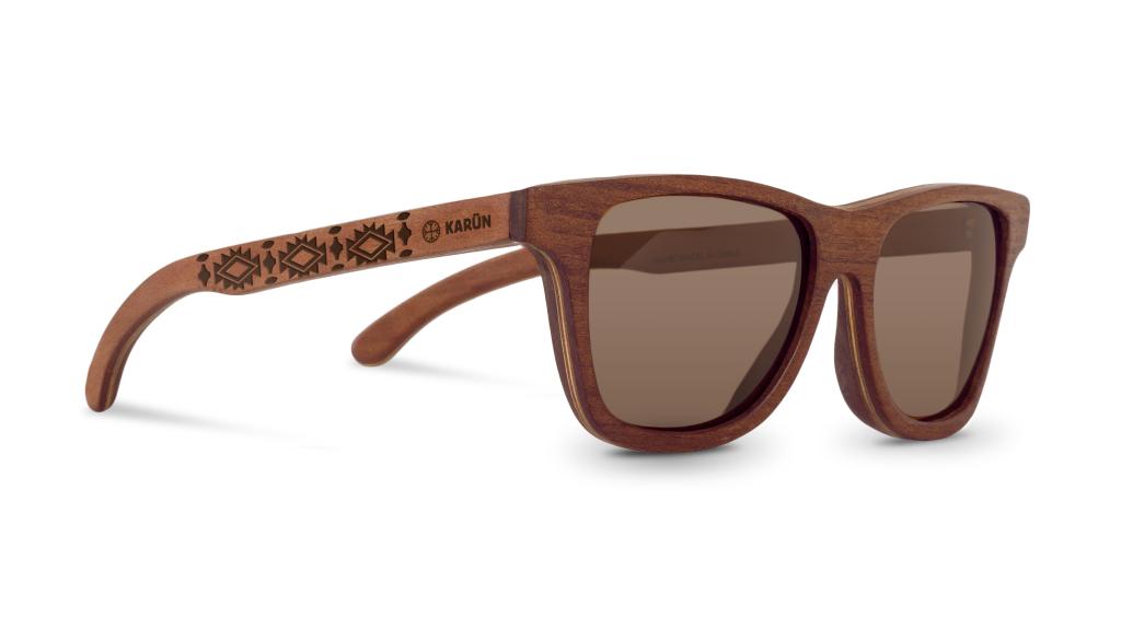 Liwe karun sunglasses wood eyewear - GE CAP