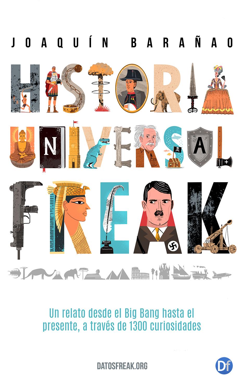 """Ellalabella converso con  Joaquín Barañao, autor del recién lanzado libro digital """"Historia Universal Freak"""""""