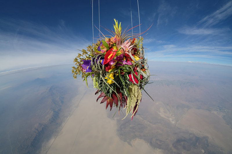 azuma-makoto-sends-flower-bouquet-into-space-3