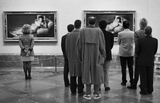 maja vestida y desnuda-museo