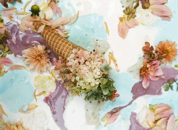 Aromáticos helados florales