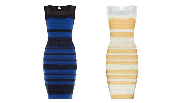 Tranquilos, hay una explicación científica para el misterio del vestido a rayas