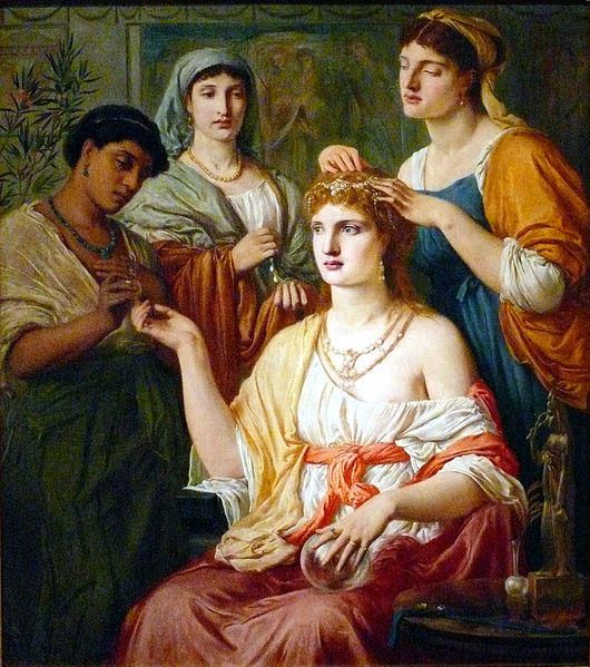 Toilet of a Roman Lady Simeon Solomon