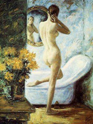 alvarez-lugo-mujer-frente-a-un-espejo-pintores-latinoamericanos-juan-carlos-boveri