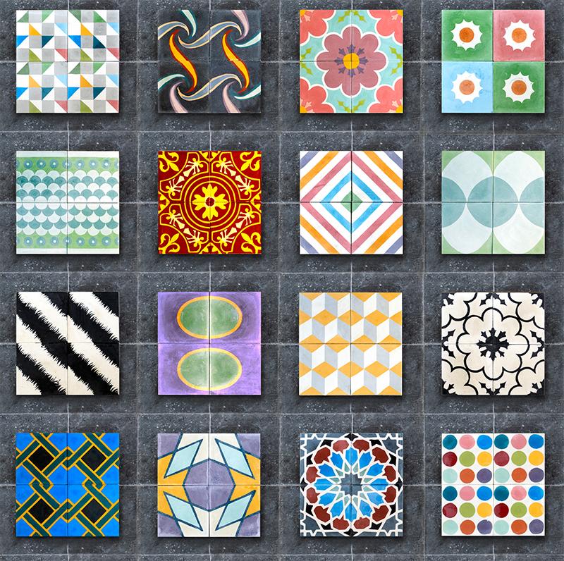 Colores De Baldosas - Decoración Del Hogar - Prosalo.com