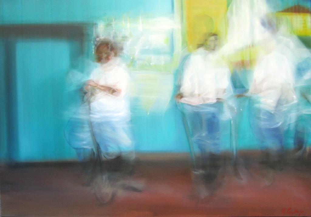 Dance. Oil on canvas. 120x170cm