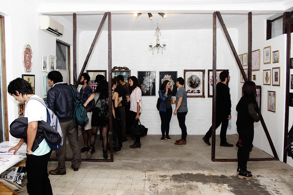 """Vida Social en exposición """"Otro Mundo"""" Galería Madhaus"""