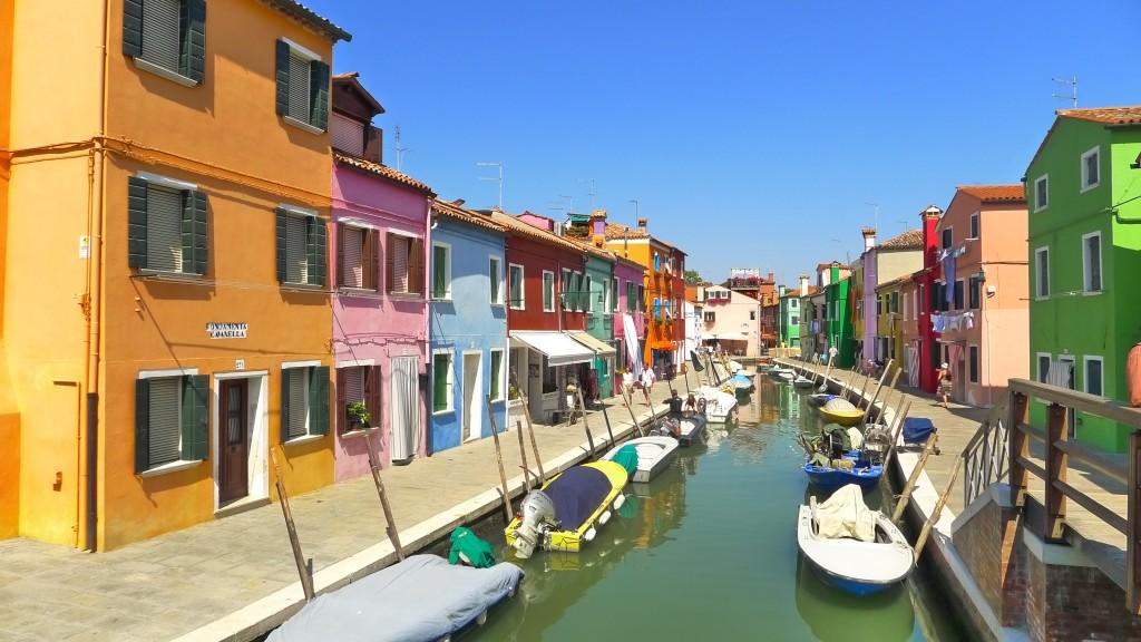 Isla Burano Venecia