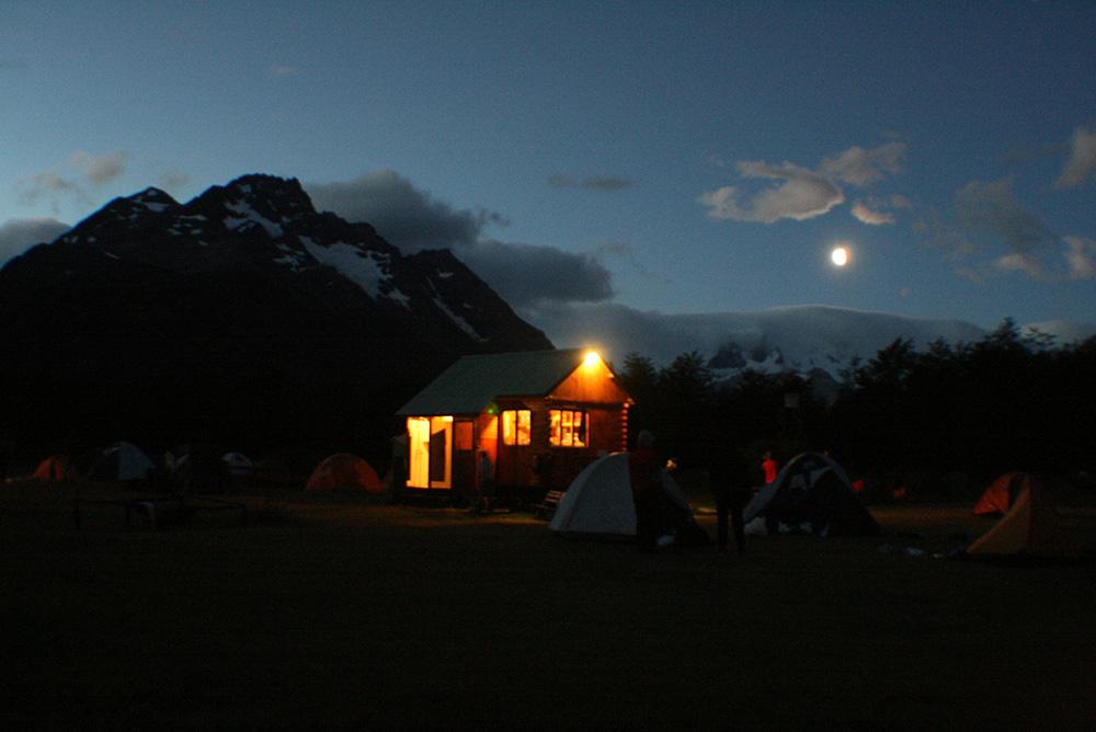Lago Dikson Torres del Paine Chile