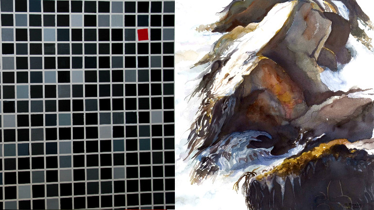 Sala de Arte CCU presenta la exposición «Visiones» de Fernando Chomalí y Ricardo Bitrán