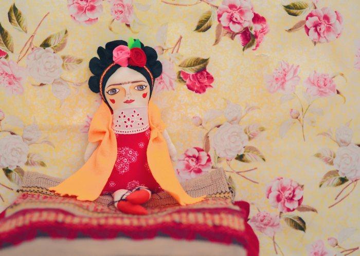 Muñecas Mandarinas de tela