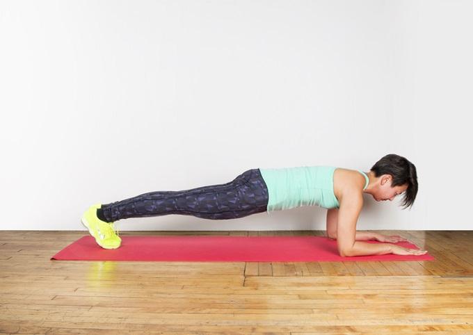 «Plank» el ejercicio abdominal que trabaja todo tu cuerpo