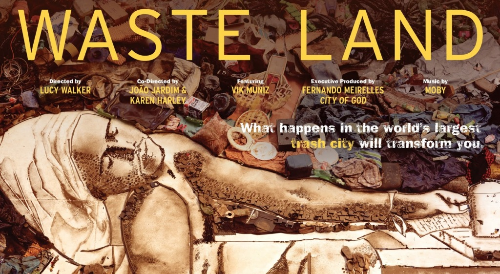 «Wasted Land»  documental de Vik Muniz el artista que transforma la basura en arte.