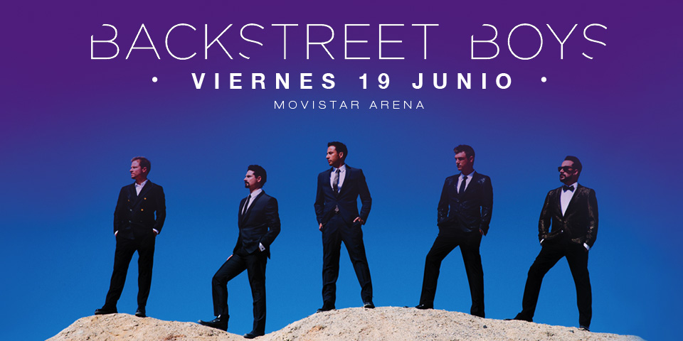 "Los Backstreet Boys están de regreso con ""In a World Like This Tour"""