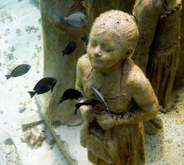 El Jardín de Esculturas Submarinas de Jason deCaires Taylor