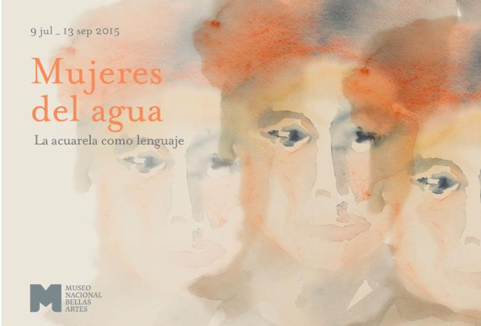 Mujeres del Agua; Acuarela como lenguaje