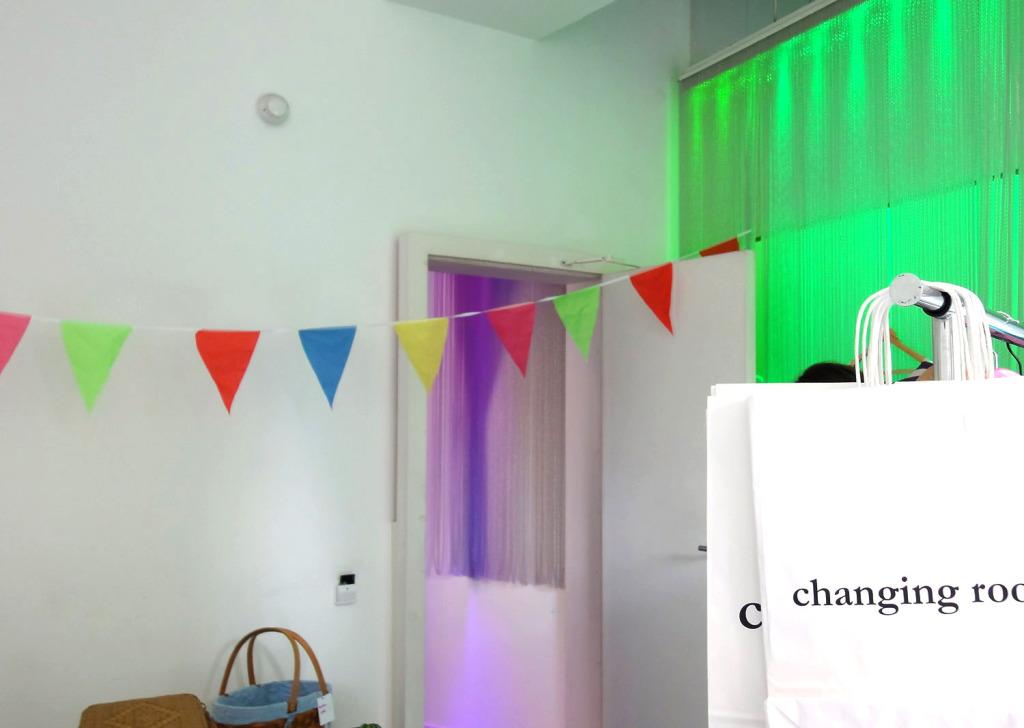 Un día de moda en un hotel,  Changing Room Barcelona