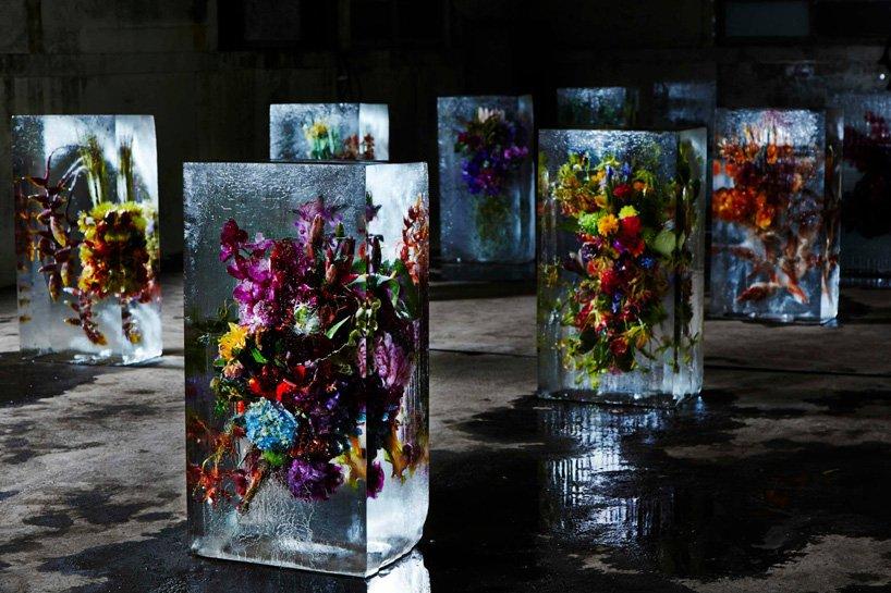 Flores congeladas de Makoto Asuma