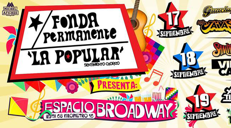 Fonda Permanente en espacio Broadway