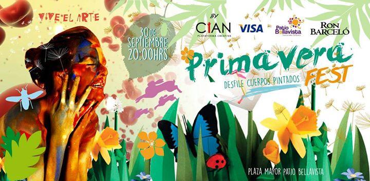 Primavera Fest Cuerpos Pintados