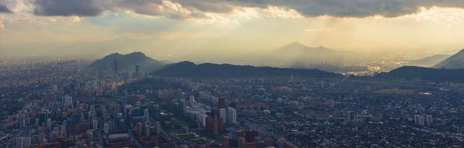 Santiago desde el aire