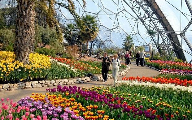 """""""Eden Project"""" increíble parque sostenible en Inglaterra"""