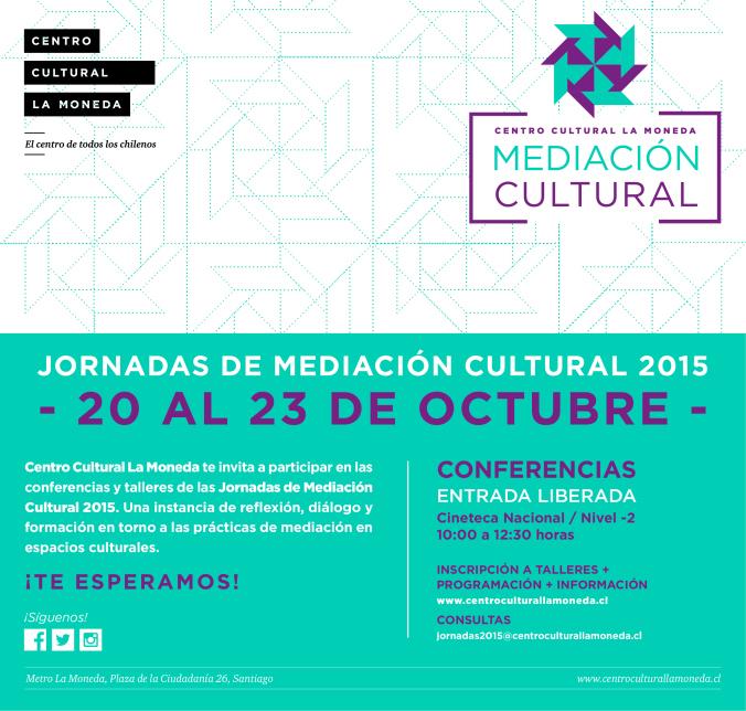 Jornadas de Mediación Cultural 2015