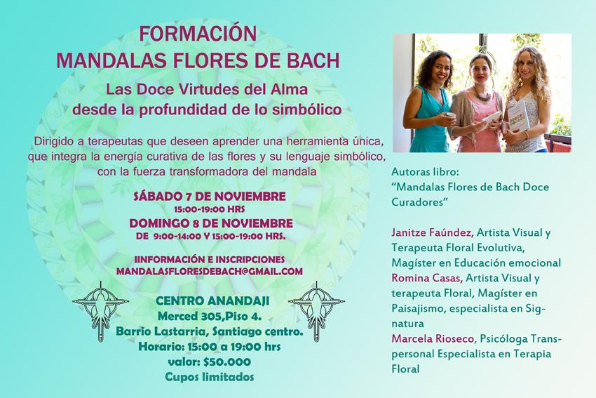 Formación Mandalas Flores de Bach Doce Curadores